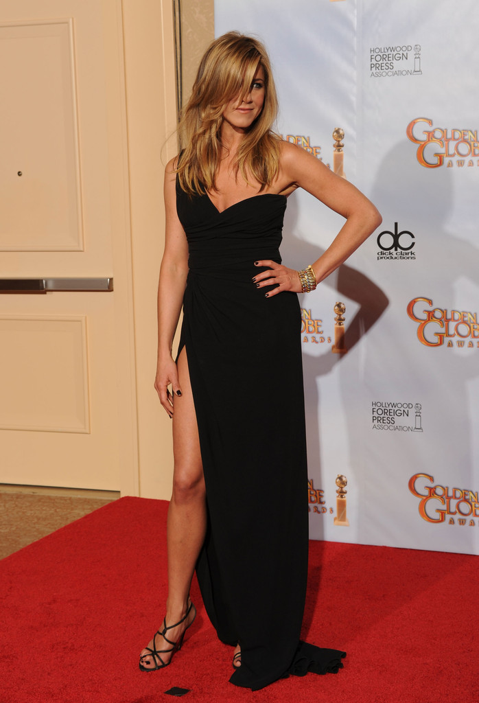 Actress Jennifer Aniston poses in the press room at the 67th Annual Golden Globe Awards held at The Beverly Hilton Hotel on January 17, 2010 in Beverly Hills, California.