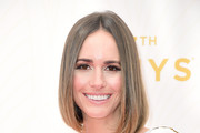 Television personality Louise Roe attends the 67th Annual Primetime Emmy Awards at Microsoft Theater on September 20, 2015 in Los Angeles, California.