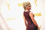 TV personality Debbie Matenopoulos attends the 67th Annual Primetime Emmy Awards at Microsoft Theater on September 20, 2015 in Los Angeles, California.