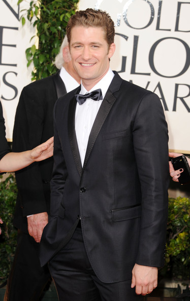 Actor Matthew Morrison arrives at the 68th Annual Golden Globe Awards held at The Beverly Hilton hotel on January 16, 2011 in Beverly Hills, California.
