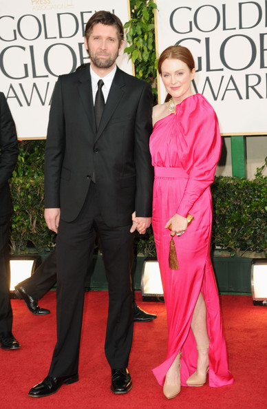 Filmmaker Bart Freundlich (L) and actress Julianne Moore arrive at the 68th Annual Golden Globe Awards held at The Beverly Hilton hotel on January 16, 2011 in Beverly Hills, California.