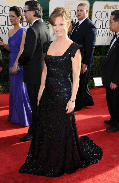 Actress Melissa Leo arrives at the 68th Annual Golden Globe Awards held at The Beverly Hilton hotel on January 16, 2011 in Beverly Hills, California.