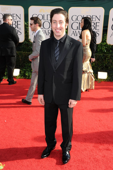 Actor Simon Helberg arrives at the 68th Annual Golden Globe Awards held at The Beverly Hilton hotel on January 16, 2011 in Beverly Hills, California.