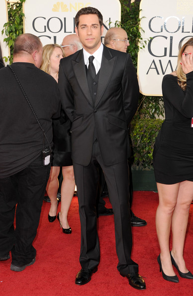 Actor Zachary Levi arrives at the 68th Annual Golden Globe Awards held at The Beverly Hilton hotel on January 16, 2011 in Beverly Hills, California.