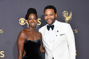 Anthony Anderson and Alvina Stewart - The Cutest Couples at the 2017 Emmy Awards