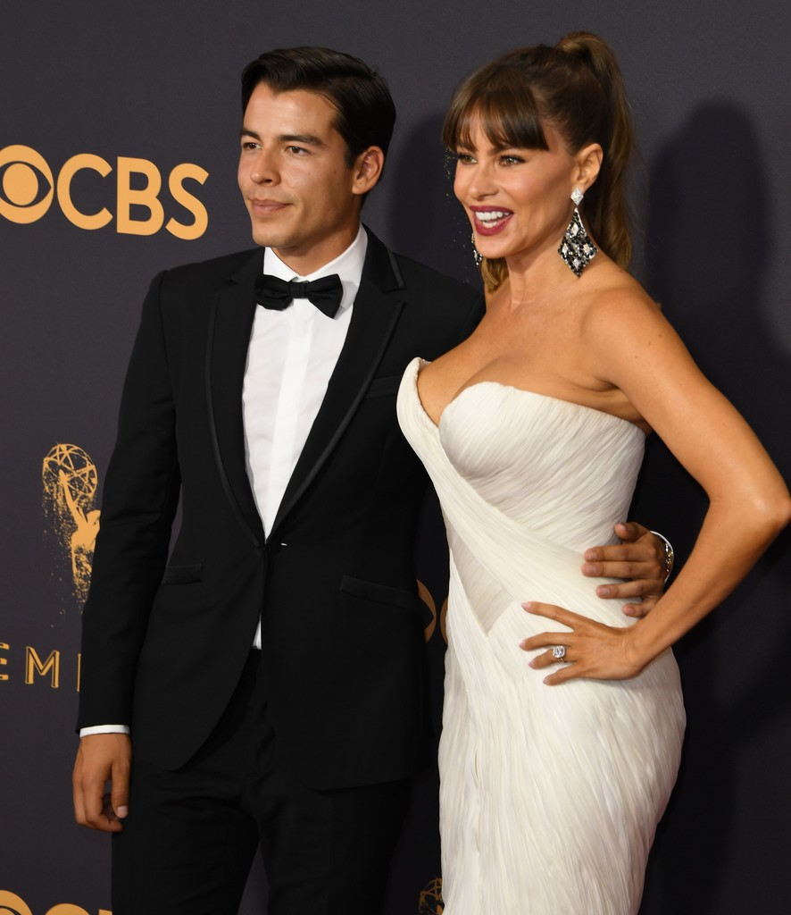Sofia Vergara Attends The 69th Annual Primetime Emmy