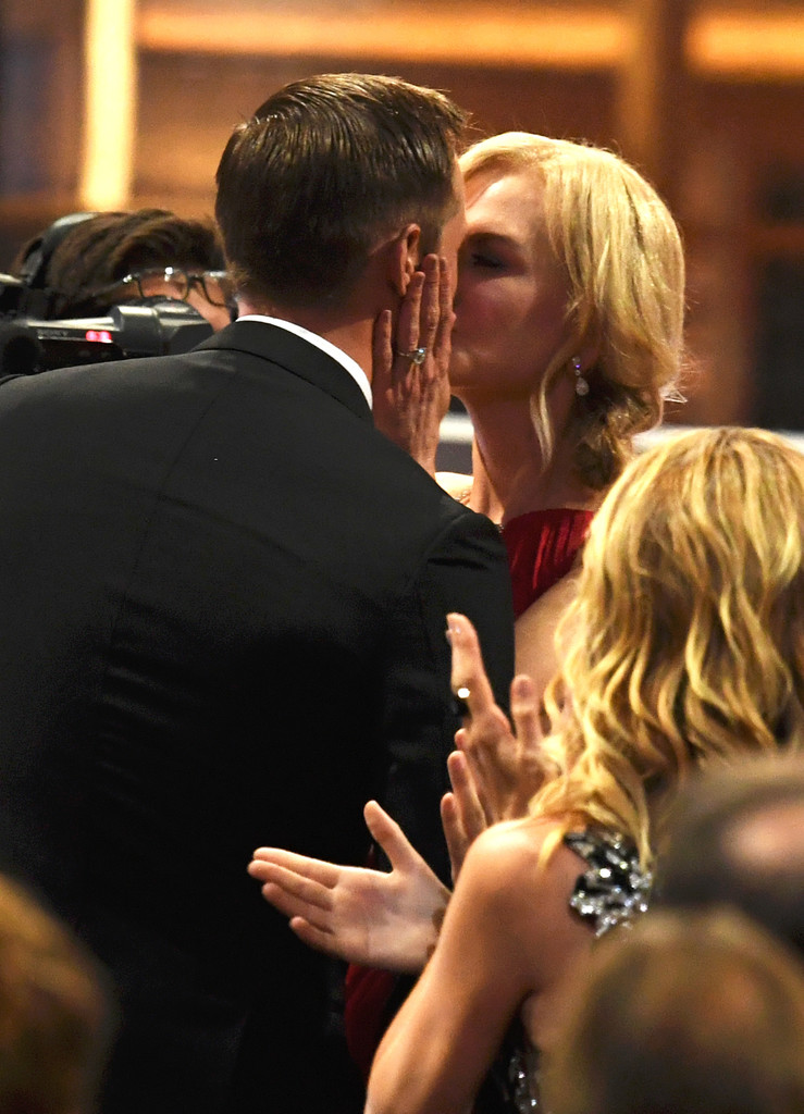 Nicole Kidman Smooched Alexander Skarsgård at the Emmys and Everyone's a Tad Confused