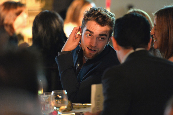 Actor Robert Pattinson attends the 6th annual Go Go Gala on November 14, 2013 in Pacific Palisades, California.