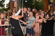 Actress Sadie Robertson takes photos with fans before the 6th Annual KLOVE Fan Awards at The Grand Ole Opry on May 27, 2018 in Nashville, Tennessee.