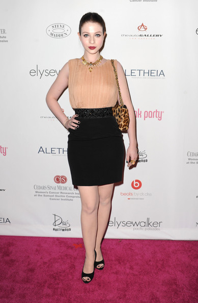 Actress Michelle Trachtenberg arrives at the 6th Annual Pink Party at Drai's at the W Hollywood on September 25 2010 in Hollywood, California.