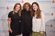 Host Mary Calvi, honoree Robin Quivers and guest attend the 6th Annual Women Of Influence Awards at The Plaza Hotel on May 11, 2018 in New York City.