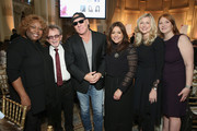 (L-R) Robin Quivers, Paul Williams, Steve Madden, Rachael Ray, Elizabeth Matthews and Patti Galluzzi attend the 6th Annual Women Of Influence Awards at The Plaza Hotel on May 11, 2018 in New York City.
