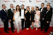 Ricarcardo Vannetti, Joel Towers, Julie Gilhart, Jose Neves; Daniela Cecilio; Susan Rockefeller; Kay Unger, Davd Van Zandt and Burak Cakmak attend the 70th Annual Parsons Benefit on May 21, 2018 in New York City.
