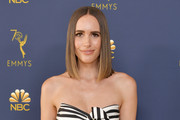 Louise Roe attends the 70th Emmy Awards at Microsoft Theater on September 17, 2018 in Los Angeles, California.