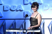 Linda Cardellini speaks onstage during the 71st Annual Directors Guild Of America Awards at The Ray Dolby Ballroom at Hollywood & Highland Center on February 02, 2019 in Hollywood, California.