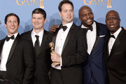 Andre Braugher Michael Schur Photos Photo