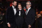 (L-R) John Kraskinski, Emily Blunt and Alfonso Cuaron attend the 71st Annual Writers Guild Awards New York ceremony at Edison Ballroom on February 17, 2019 in New York City.