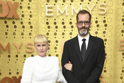 (L-R) Patricia Arquette and Eric White attend the 71st Emmy Awards at Microsoft Theater on September 22, 2019 in Los Angeles, California.