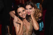 Julia Louis-Dreyfus (L) and Anna Chlumsky attend the Governors Ball during the 71st Emmy Awards at L.A. Live Event Deck on September 22, 2019 in Los Angeles, California.