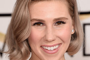 Zosia Mamet's Rose Gold - Celebrity Hair Cuts and Color Changes of 2015