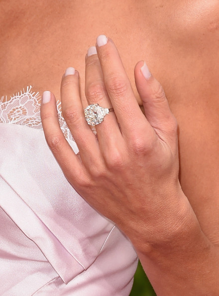 arrivals at the golden globe awards part 2 - Giuliana Rancic Wedding Ring
