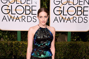 Carly Chaikin - The Stars Arrive to the 2016 Golden Globes