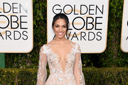 Corinne Foxx - The Stars Arrive to the 2016 Golden Globes