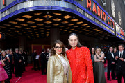 Tina Fey (L) and Jordan Roth attend the 73rd Annual Tony Awards at Radio City Music Hall on June 09, 2019 in New York City.