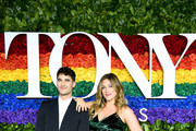 Darren Criss and Mia Swier attend the 73rd Annual Tony Awards at Radio City Music Hall on June 09, 2019 in New York City.