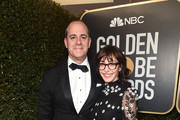 CEO Of Showtime David Nevins (L) and Writer Andrea Blaugrund Nevins attend the 76th Annual Golden Globe Awards at The Beverly Hilton Hotel on January 6, 2019 in Beverly Hills, California.