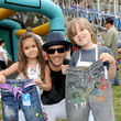 "Eva Gosselaar 77kids by American Eagle Denim Decorating at ""A Time For Heroes"" Picnic"