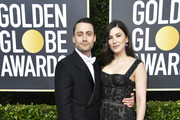 (L-R) Kieran Culkin and Jazz Charton attend the 77th Annual Golden Globe Awards at The Beverly Hilton Hotel on January 05, 2020 in Beverly Hills, California.