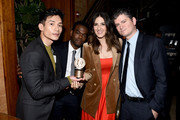(L-R) Manny Jacinto, William Jackson Harper, D'Arcy Carden and Michael Schur attend the afterparty of 78th Annual Peabody Awards Ceremony Sponsored By Mercedes-Benz at Cipriani Wall Street on May 18, 2019 in New York City.