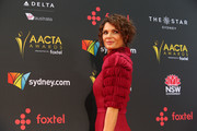 Danielle Cormack attends the 7th AACTA Awards Presented by Foxtel | Ceremony at The Star on December 6, 2017 in Sydney, Australia.
