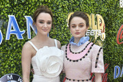 Hunter King and Joey King attend the 7th Annual Gold Meets Golden at Virginia Robinson Gardens and Estate on January 04, 2020 in Los Angeles, California.