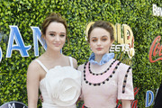 Hunter King and Joey King arrive at the 7th Annual Gold Meets Golden at Virginia Robinson Gardens and Estate on January 04, 2020 in Los Angeles, California.