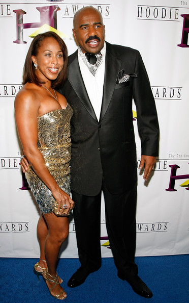 hoodie awards arrivals in this photo steve harvey marjorie harvey