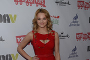 Actress Hunter King arrives at the 82nd Annual Hollywood Christmas Parade on Hollywood Blvd. on December 1, 2013 in Hollywood, California.