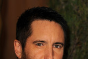 Composer Trent Reznor arrives at the 83rd Academy Awards nominations luncheon held at the Beverly Hilton Hotel on February 7, 2011 in Beverly Hills, California.
