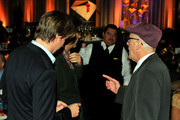 Geoffrey Rush and Tom Hooper Photos Photo