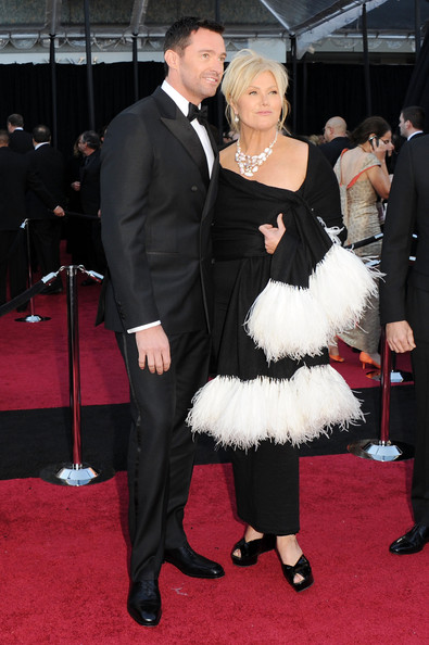Actor Hugh Jackman and wife Deborra-Lee Furnes arrive at the 83rd Annual Academy Awards held at the Kodak Theatre on February 27, 2011 in Hollywood, California.