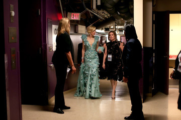 Cate Blanchett Backstage at the 2016 Academy Awards