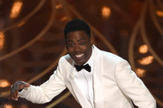Actor Chris Rock presents on stage at the 88th Oscars on February 28, 2016 in Hollywood, California. AFP PHOTO / MARK RALSTON / AFP / MARK RALSTON