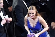 Actress Brie Larson in the audience during the 88th Annual Academy Awards at the Dolby Theatre on February 28, 2016 in Hollywood, California.