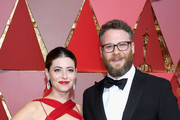 Lauren Miller and Seth Rogen attend the 89th Annual Academy Awards at Hollywood & Highland Center on February 26, 2017 in Hollywood, California.