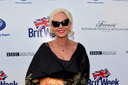 Actress Tippi Hedren attends the 8th Annual BritWeek Launch Party at a private residence on April 22, 2014 in Los Angeles, California.