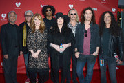 (L-R) President of the National Academy of Recording Arts and Sciences Neil Portnow, Honoree Neil Lasher, Musicians Nancy Wilson, William DuVall, Ann Wilson, Jerry Cantrell, Sean Kinney and Mike Inez arrive at the 8th Annual MusiCares MAP Fund Benefit at Club Nokia on May 31, 2012 in Los Angeles, California. The MusiCares MAP Fund benefit raises resources for the MusiCares MAP Fund, which provides members of the music community access to addiction recovery treatment. More information at musicares.org.