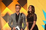 Tyler Oakley and Annie LeBlanc Photos Photo