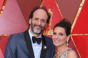 Luca Guadagnino (L) and Monica Guadagnino attend the 90th Annual Academy Awards at Hollywood & Highland Center on March 4, 2018 in Hollywood, California.