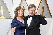 Marilou York (L) and Mark Hamill attend the 90th Annual Academy Awards at Hollywood & Highland Center on March 4, 2018 in Hollywood, California.